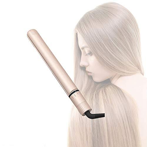 Professionelle Haar-Straightener Keramik-Touramic Turmaline Flat Iron & Curler mit Digital Touch Display, 5 Wärmeeinstellungen, Anti Frizz, Für alle Haararten