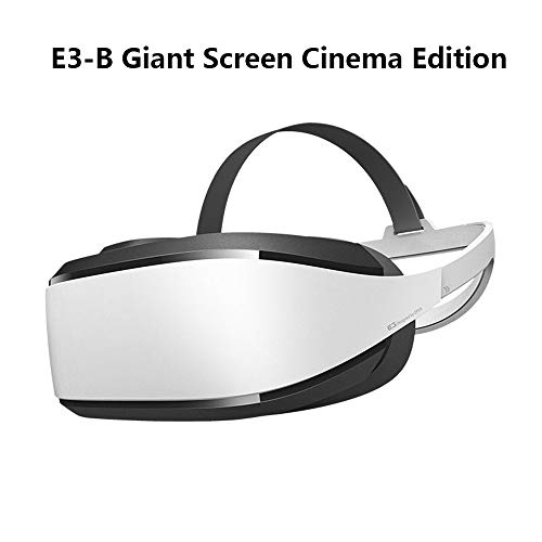 Find Bargain LHTE Video Glasses Virtual Screen Smart Glasses, 3D VR Glasses VR Games/Movies VR Movies Virtual Reality Home IMAX NOLO CV1,White,1