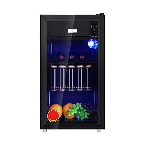 L refrigerator 112l EintüRige KüHlschrank GeküHlt Und Frischhaltung, Fluor- Freien Kompressor Einen Hohen Wirkungsgrad Schnelle KüHlung, 5-Gang-Temperatureinstellung
