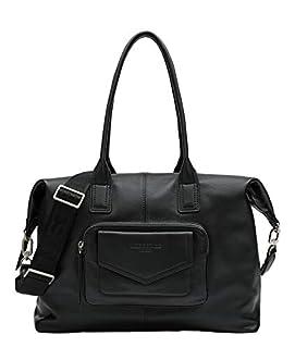 Liebeskind Berlin Women's Sara Satchel Handbag, Black-9999, Large (B0882F2PS2)   Amazon price tracker / tracking, Amazon price history charts, Amazon price watches, Amazon price drop alerts