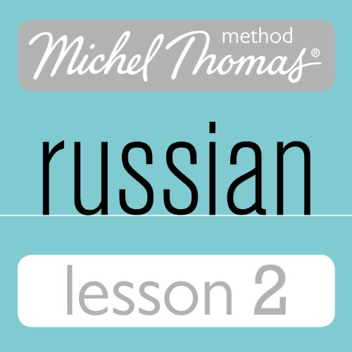 Michel Thomas Beginner Russian, Lesson 2 cover art