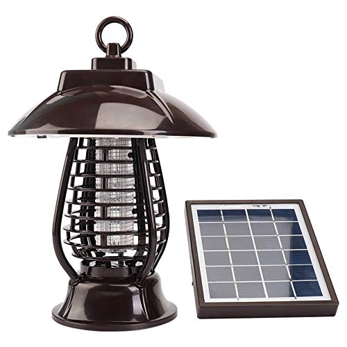 Solar Mückenvernichter Lampe Insektenvernichter Lampe Mückenvernichter Laden Garten Im Freien Elektronische Mückenfalle