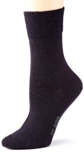 ELBEO Damen Sensitive Classic Woool Socken, Blau (Nachtblau 9756), 35-38 (I)