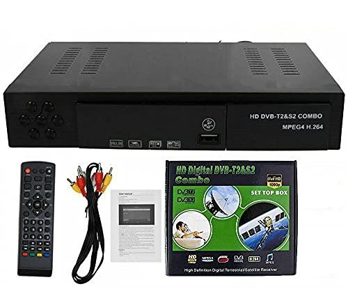 Mingbao New Full Free to Air FTA HD Smart Digital Satellite TV Receiver DVB-T2+DVB-S2 1080P Decoder Tuner MPEG4