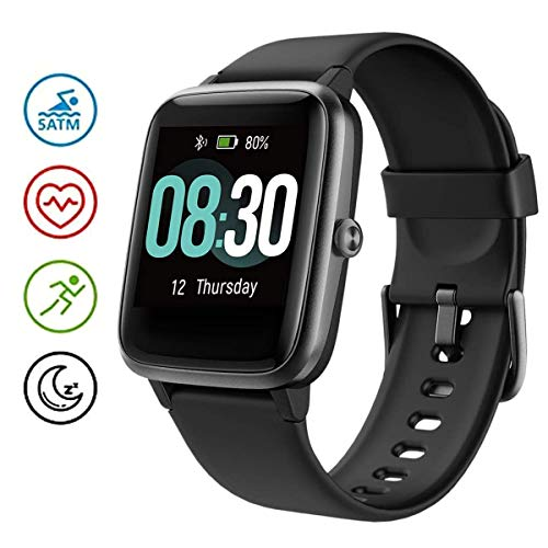 GOIACII Smart Watch, Fitness Tracker with Heart Rate Monitor, Activity Tracker with 1.3