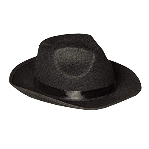 Boland 04000 - sombrero adulto Mafia, un tamaño, negro , color/modelo surtido