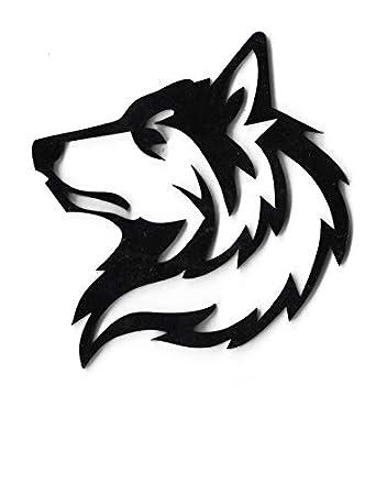 The Logo Man Wolf 3d Car Bike Sticker Type Logo Decal Emblem Amazon In Car Motorbike