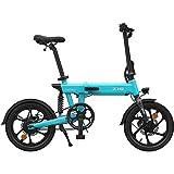 HIMO Z16 Bicicleta eléctrica para adultos, bicicleta eléctrica 10AH 250W 80KM Kilometraje Adecuado para hombres y mujeres que viajan por la ciudad