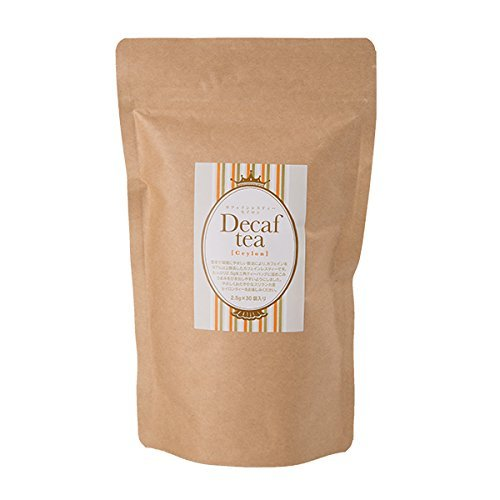 Dreieckige Teebeutel (Himozuke) entkoffeinierter Tee entkoffeiniert Ceylon 2.5gX30 Tassen [entkoffeinierten] [entkoffeinierter Tee] [entkoffeinierten] [Tee] [Tee] [parf?mfrei]
