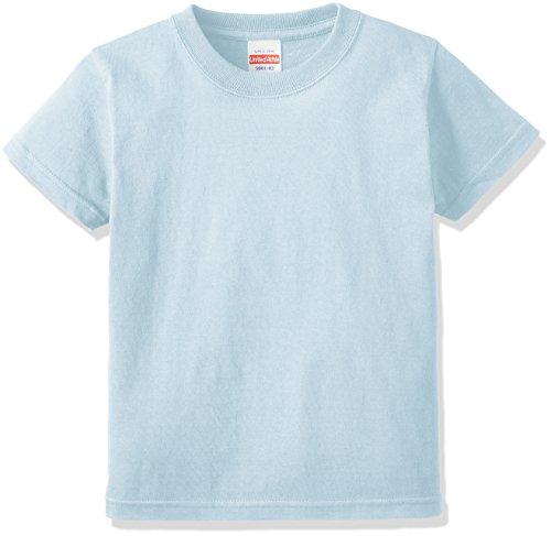 (ユナイテッドアスレ)UnitedAthle 5.6オンス ハイクオリティー Tシャツ 500102 [キッズ] 488 ライトブルー 140