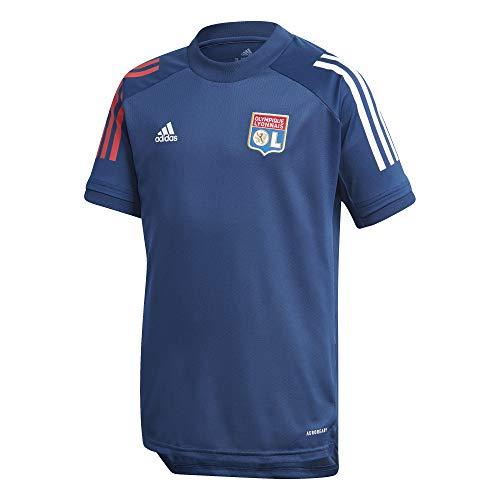adidas Olympique Lyon Temporada 2020/21 OL TR JSY Y Camiseta Entrenamiento, Niño,...
