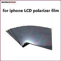 新しい液晶画面偏光子の交換 iPhone × 8 6 6 s 7 plus 4 4s 5 5 s 5c XS 最大 XR 液晶偏光板フィルム偏光フィルム