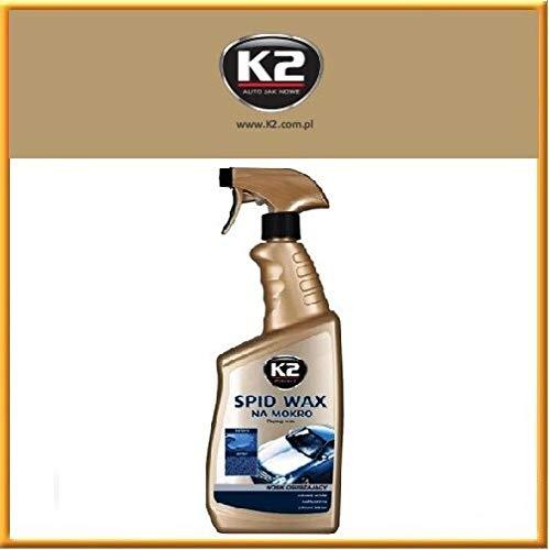 K2 Speed Wax, flüssiges Wachs, Auto Wachs Versiegelung, Sprühwachs Lackschutz, Auto Lackpolitur, einfach schnell aufsprühen, Nanoversiegelung, 700ml