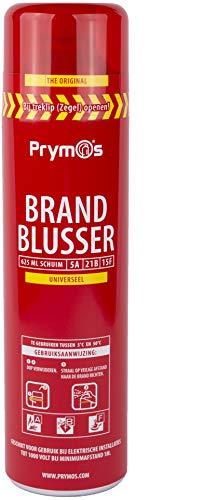 Prymos Universele spray brandblusser, ook geschikt voor frituurvet
