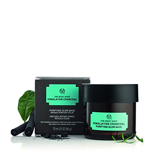 The Body Shop Himalayan Charcoal Purifying Glow Face Mask, 3 Ounce (Vegan)