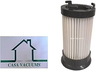 Casa Vacuums Eureka DCF-4 DCF-18 Washable & Reusable Long-Life Vacuum Filter; Replaces Eureka GE DCF1 DCF4 DCF18 Part # 62132 63073 61770 3690 18505 28608-1 28608B-1