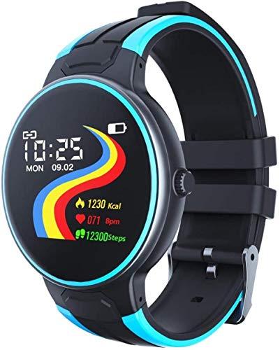 Seguimiento de la salud impermeable reloj inteligente multifuncional pulsera inteligente hombres y mujeres reloj deportivo