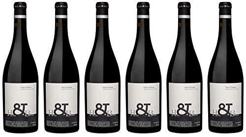 6x Saint Chinian Rouge 2013 - Hecht et Bannier, Languedoc-Roussillon - Rotwein