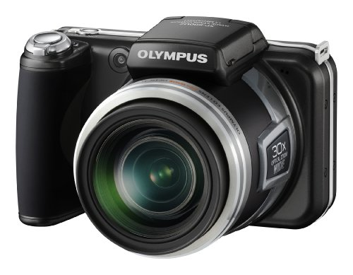 Olympus SP-800UZ Digitalkamera (14 Megapixel, 30-Fach Zoom, 7,6 cm (3 Zoll) Display, 2GB intern Speicher) Classic Black
