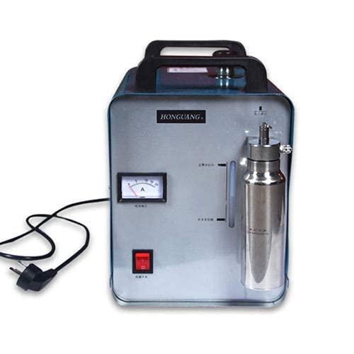 220V 75L Oxígeno-Hidrógeno Agua Soldadora Llama Acrílico HHO Pulidora + Pistola Gratis, Antorcha acrílica, Pulidora acrílica Antorcha H160 Conveniente y fácil de Usar