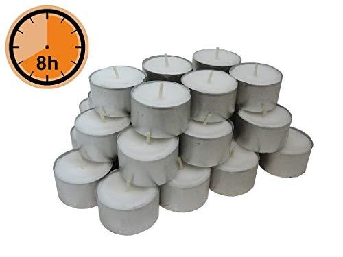 200 x 21,5mm 30er Box Gies Tafelkerzen Weiß Stabkerzen
