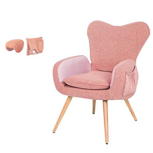 Chaise d'allaitement Maternel avec Housse en Coton Lin, Chaise De Canapé avec Support De Taille Fonctions De Massage Chauffé pour Les Mamans, dans Le Salon De La Chambre