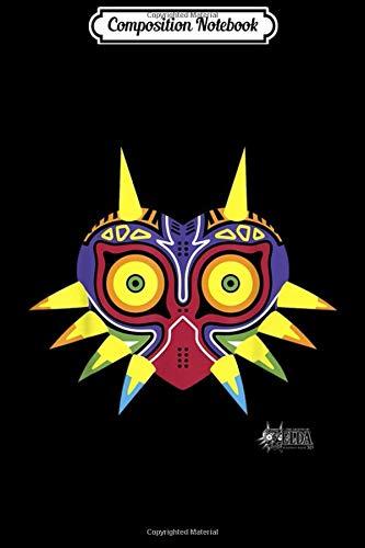 Composition Notebook: Legend Of Zelda Majoras Mask Portrait Logo Journal/Notebook Blank Lined Ruled 6×9…