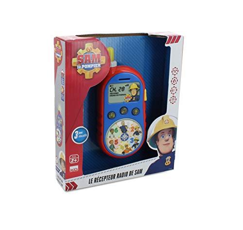 Fireman Sam - S13250 - Juego Educativo Electrónica - Walkie Talkie