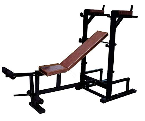 Produman Hub Weight Lifting Multi Purpose Adjustable Multi Capacity Utility Exercise Bench for Weight Strength Training 7 in 1 Benchhub 7 in 1 Gym Bench model-pd7970
