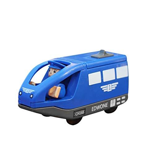Kid Locomotora de juguete de tren magnético eléctrico Thomas Juguete de pista...
