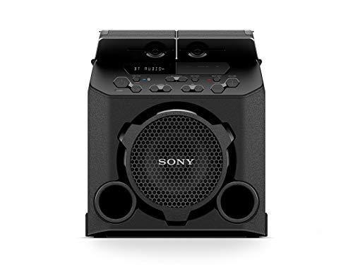 Sony Sistema Audio GTK-PG10 con bluetooth, batería recargable, resistente a salpicaduras, USB, FM, entrada de audio, compatible con...