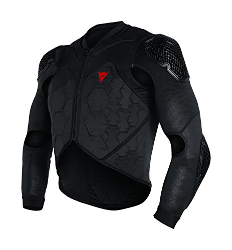 Dainese Men\'s Rhyolite 2 Safety Jacket Protektorenjacke MTB, Schwarz, L