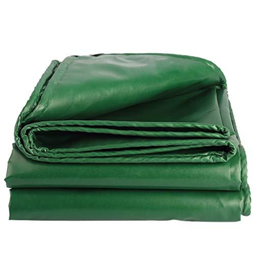 BRFDC Tarpaulin Waterproof Heavy Duty Tarpaulin Rain Cloth Sunscreen Tarpaulin Padded Waterproof Shed Cloth Truck Canvas Waterproof Tarpaulin Coated Cloth (Color : Green, Size : 2x3m)