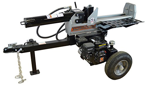Review Of Frictionless World 101278 Half Beam Log Splitter, 22 Tons, Silver/Black