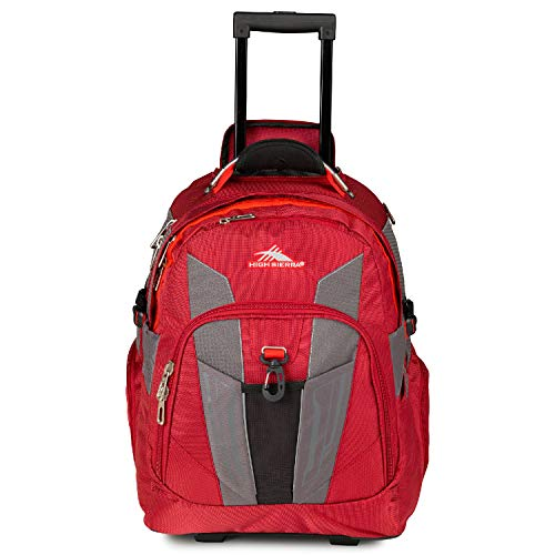 High Sierra XBT Laptop Wheeled Backpack, 17-inch Student Laptop Backpack for...