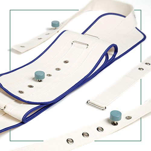 ORTONES | Cinturón Abdominal para Cama con Cierre Magnético | Arnés de protección | Talla Unica ✅