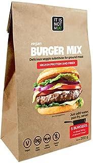 Mezcla de Hamburguesas Veganas Instantánea Perfecto para