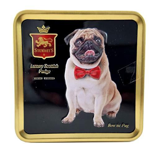 Stewart's Luxury Fudge Bites, Pug, 3.5 oz Tins