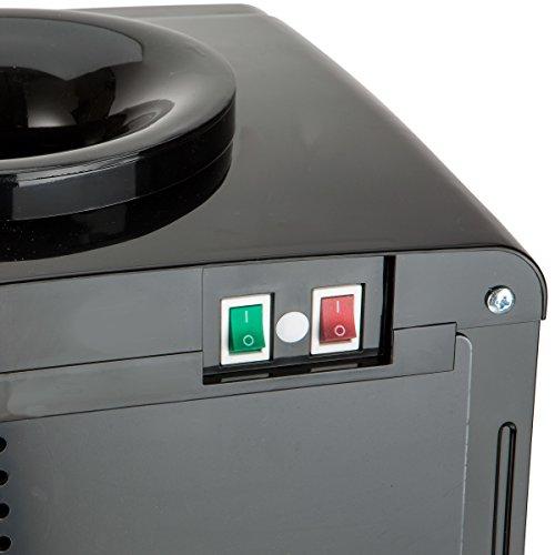 Farberware FW29919 Freestanding Hot and Cold Water Cooler Dispenser, Black
