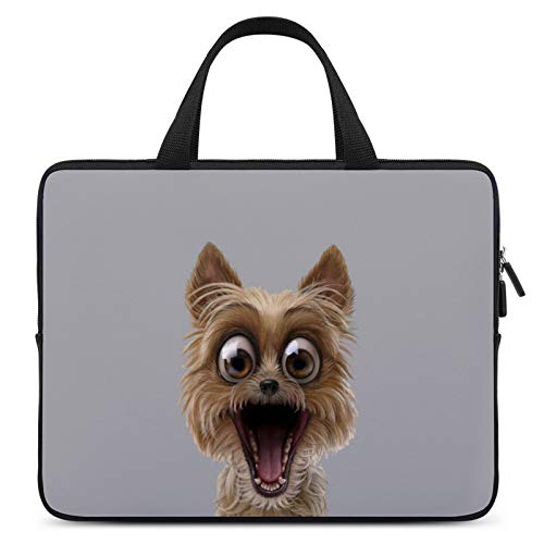 Universal Laptop Computer Tablet,Case,Cover for Apple/MacBook/HP/Acer/Asus/Dell/Lenovo/Samsung,Laptop Sleeve,Color for Dog Yorkshire Terrier Norwich Terrier,12inch