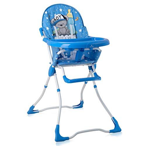 Lorelli Marcel Chaise Haute pour Bébé Bleu