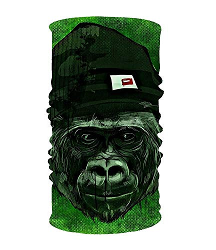 Dongpujidiangongsi Monkey 16-in-1 Magic Scarf, gezichtsmasker, Balaclava bandana voor outdoor sporten
