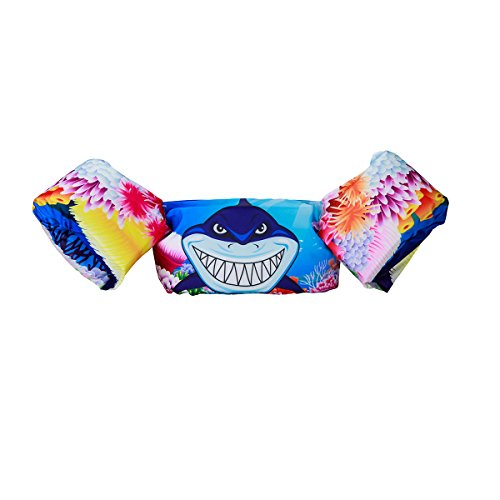 Read About Elejolie Kids ,Learn to Swim Life Jacket,Swim Aid Floater Life Vests (22-66 bl) (Shark)