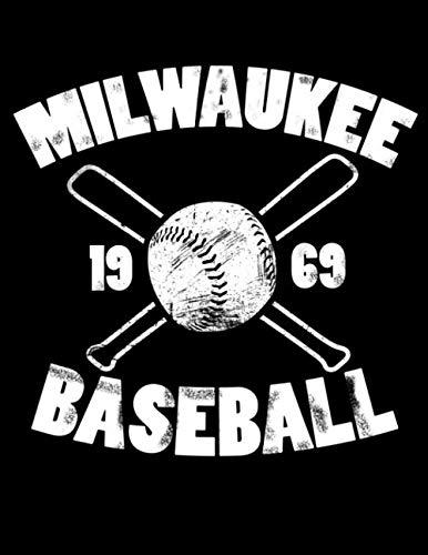 Milwaukee Baseball: Vintage and Distressed Milwaukee Baseball Notebook for Baseball Lovers