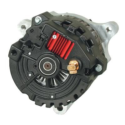 Powermaster Performance 363 Chrome Alternator (Baffle 144mm/6 Hole Pulley Cone CS144 Finishing Touch)