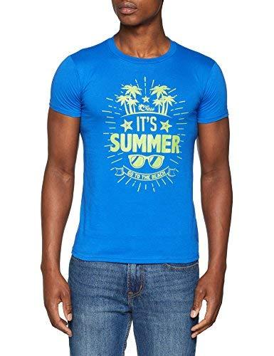 Cressi - It's Summer - T-Shirt - Homme - Bleu (Bleu Royale) - Taille: XL