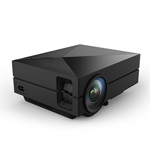 S1 LED LCD (WVGA) Mini Video Projector - International Version (No Warranty) - DIY Series - Black (FP8048S1-IV9)