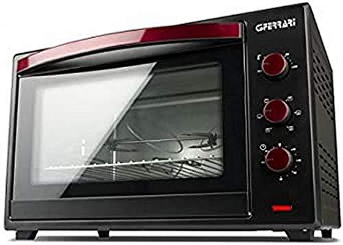 G3Ferrari G10077 Il Moro 60 Forno Elettrico Ventilaro con Luce e Girarrosto, Capacità 60 Litri, 2000 W