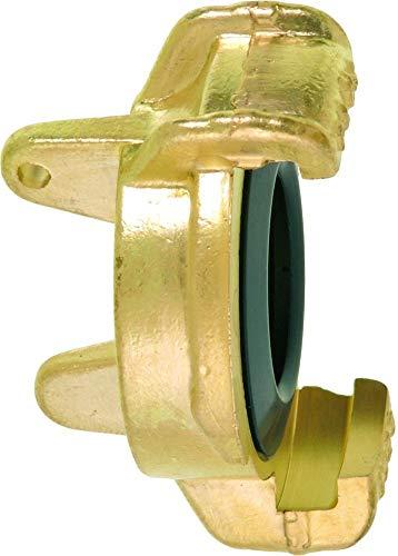 Geka 40118SB Blindkupplung MS für Kettchen mit Bohrung 3 mm, Gold, 18 x 8 x 13 cm