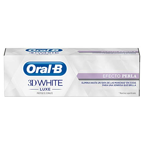 Oral-B 3D Denticfrica White Luxecon Effect Parel - 4-pack (4 x 75 ml) - Totaal: 300 ml